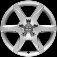 "16"" Audi 6 Spoke wheels 4F0601025CM8Z8"