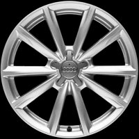"18"" Audi 10 Spoke wheels 4F0601025CP8Z8"