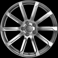 "18"" Audi 10 Spoke wheels 4F0601025DD1H7"