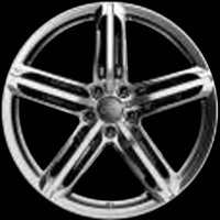 "20"" Audi 5 Segment Spoke wheels 4G0601025BN"