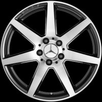 "18"" AMG 7 Spoke wheels B66031513 B66031514"