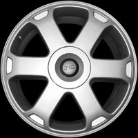 "18"" Audi 6 Spoke wheels 4D0601025TZ17"