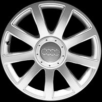 "18"" Audi 9 Spoke wheels 8D0601025T1H7"