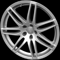 "19"" Audi 7 Double Spoke wheels 8E0601025AG1H7"