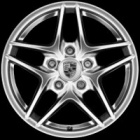 "new 17"" Porsche Boxster III alloy wheels"