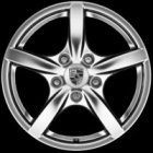 "new 17"" Porsche Cayman II alloy wheels"