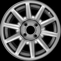 "15"" Audi 10 Spoke wheels 8A0601025CZ7P"