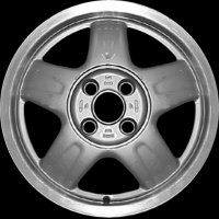 "15"" Audi 5 Spoke wheels 8A0601025MZ7P"