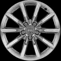 "17"" Audi 10 Spoke wheels 8U0601025S"