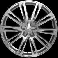 "20"" Audi 10 Parallel Spoke wheels 4H0601025AEZ33/4EE"