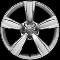 "18"" Audi 5 Spoke wheels 8K0601025BM"