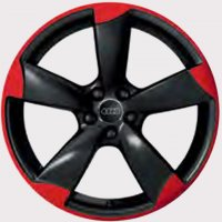 "19"" Audi 5 Arm Rotor wheels 8P0601025CQRed/Black"