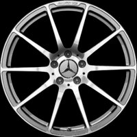 "20"" AMG 10 Spoke wheels A19740112027X21 A19740113027X21"