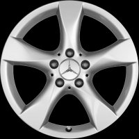 "17"" Mercedes 5 Spoke wheels A24640105029765"