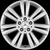 "17"" Mercedes 7 Twin Spoke wheels A2464010602649765"