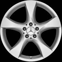 "19"" Mercedes 5 Spoke wheels A1664010202649765"