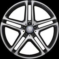 "21"" AMG 5 Twin Spoke wheels A16640124027X23"