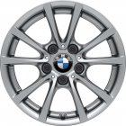 "new 16"" BMW 390 alloy wheels"