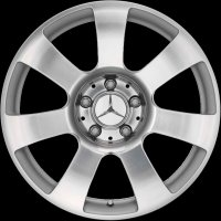 "17"" Mercedes 7 spoke wheels B66471840"