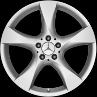 "19"" Mercedes 5 Spoke wheels B66474573 B66474574"