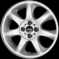 "16"" MINI R94 Bridge Spoke wheels 36116775684"