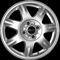 "15"" MINI R96 Delta Spoke wheels 36116768972"
