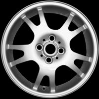"16"" MINI R87 Double Spoke wheels 36116777971"