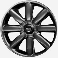"17"" MINI R104 Crown Spoke  wheels 36116787237"