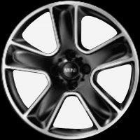 "17"" MINI R111 Star Bullet wheels 36116784124"