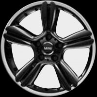 "18"" MINI R127 5-Star Double Spoke wheels 36109803727"
