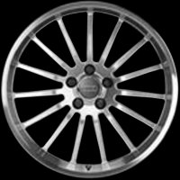 "18"" Audi 15 Spoke wheels 8K00714981ZL"