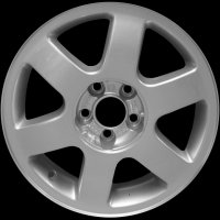 "16"" Audi 6 Spoke wheels 8L0601025HZ17"
