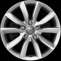 "17"" Audi 10 V Spoke wheels 8P0601025CD1H7"