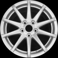 "16"" Audi 10 Spoke wheels 8J0601025CB"