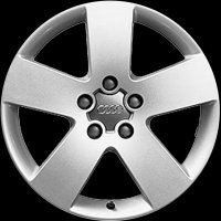 "17"" Audi 5 Spoke wheels 4B9071492666"