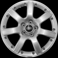 "17"" Audi 7 Spoke wheels 8E9071492666"