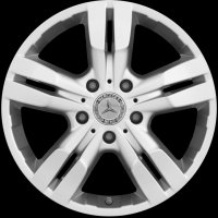 "18"" Mercedes 5 Twin Spoke wheels A46340122029765"