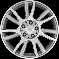 "17"" Mercedes 7 Twin spoke wheels B66474581"