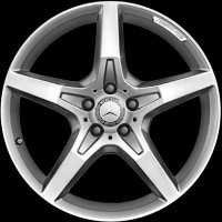 "19"" AMG 5 Spoke wheels A23140116027X25 A23140117027X25"