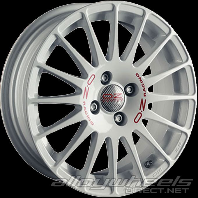 16 Quot Oz Racing Superturismo Wrc Wheels In White Red