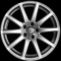 "18"" Audi 10 Spoke wheels 8J0601025ABZ28/16Z"