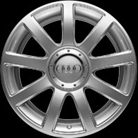 "18"" Audi 9 Spoke wheels 4Z7601025F1H7"