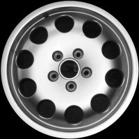 "16"" Audi 10 Hole wheels 8D0601025KZ17"