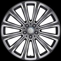 "20"" Mercedes 12 Spoke wheels A20440104047X21 A20440105047X21"
