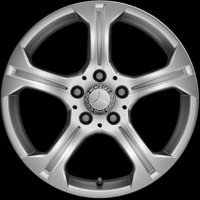 "17"" Mercedes 5 Spoke wheels A20440100049765"
