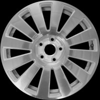 "18"" Audi 12 Spoke wheels 4F0601025AAZ33"