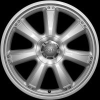 "18"" Audi 7 Spoke wheels 4F0071498666"