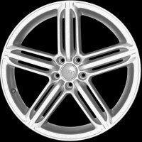 "20"" Audi 5 Segment Spoke wheels 4H0601025BF"