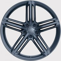 "21"" Audi 5 Segment Spoke wheels 4L0601025BK"