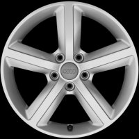 "17"" Audi 5 Spoke wheels 8P0601025AL1H7"